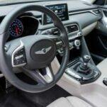 Genesis G70 останется без механической коробки передач