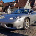В продаже появилась точная копия Ferrari 360, сделанная из Toyota