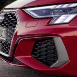 Новый Audi RS3 отличится оптикой в виде клетчатого флага