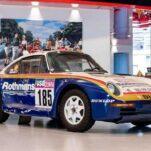Легендарный «дакаровский» Porsche пустят с молотка