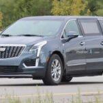 Очень странный лимузин Cadillac впервые вывели на тесты