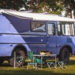 Из автобуса «ПАЗ» сделали уютный дом на колёсах