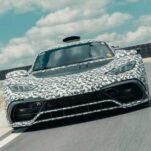 Стала известна мощность серийной версии Mercedes-AMG One