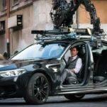 Видео: Том Круз уходит от полицейской погони на BMW M5 без дверей