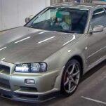 Самый дорогой в мире Nissan Skyline ушел с молотка за 24 миллиона рублей