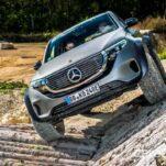 Из электрического Mercedes-Benz EQC сделали суровый внедорожник